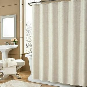 """Holland Shower Curtain Ivory Size: 72"""" x 84"""" Long"""
